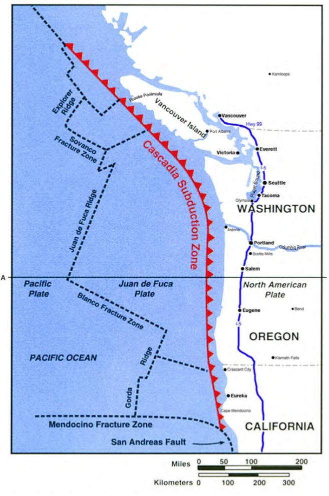 1700 Cascadia earthquake
